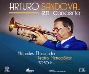 Arturo Sandoval en vivo en el Teatro Metropolitan. 11 de julio de 2018